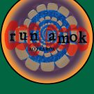 run amok - blue tentacle  by dennis gaylor