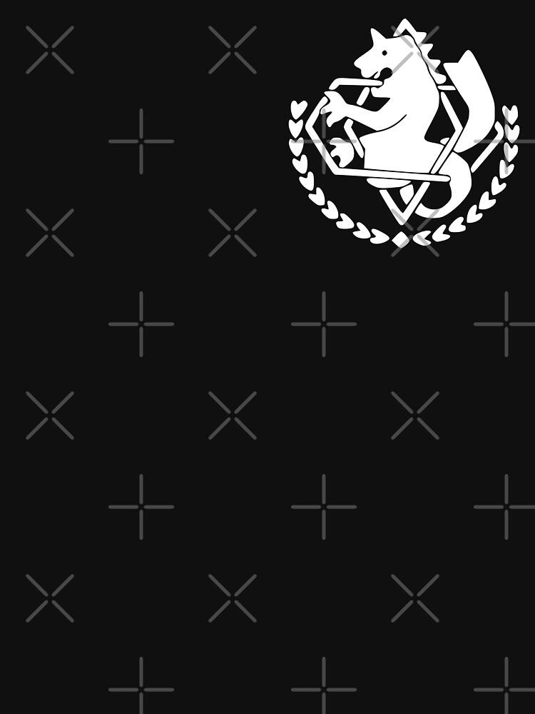 Fullmetal Alchemist State Alchemist Insignia White Unisex T