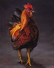 Rooster Strut by Charlotte Yealey