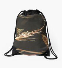 Greenish grass-dart (Ocybadistes walkeri) - Kensington Gardens, South Australia Drawstring Bag