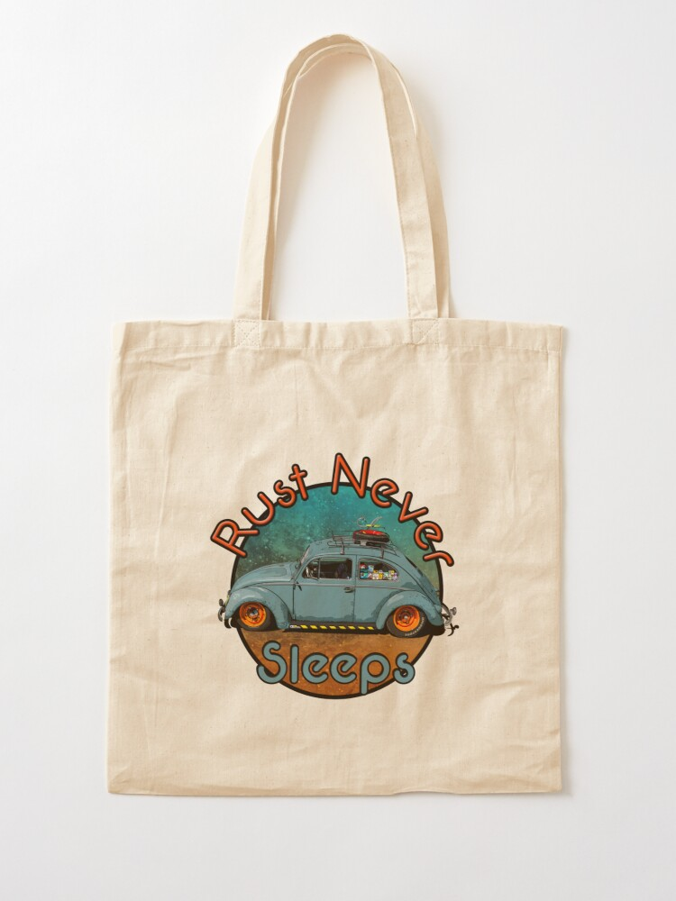 Alternate view of rust never sleeps Tote Bag
