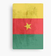 Flag cameroon Canvas Print