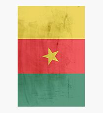 Flag cameroon Photographic Print