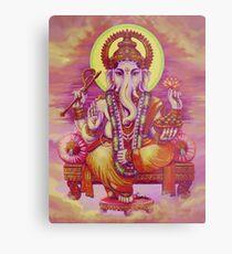 Ganesha Compassion Metal Print