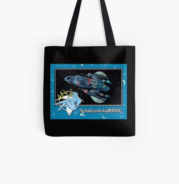 """THE MERCIFUL"" TRADING CARD ART All Over Print Tote Bag"