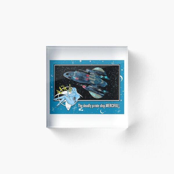 """THE MERCIFUL"" TRADING CARD ART Acrylic Block"