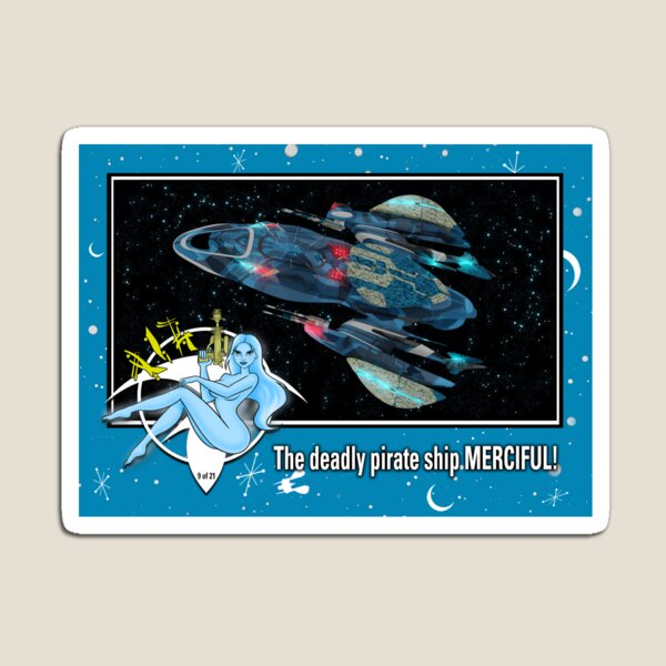 """""""THE MERCIFUL"""" TRADING CARD ART Magnet"""