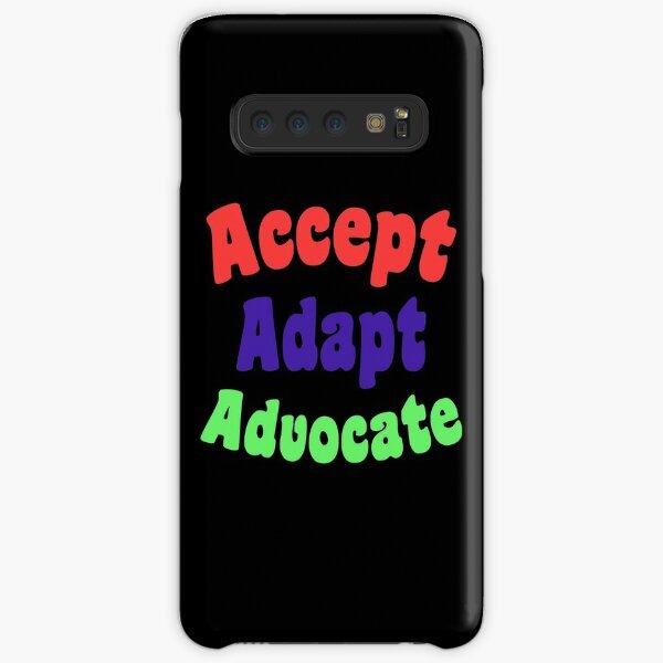Accept Adapt Advocate  Samsung Galaxy Snap Case