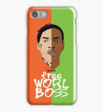 Worl Boss iPhone Case/Skin