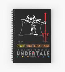 Asgore Dreemurr - Undertale Spiral Notebook