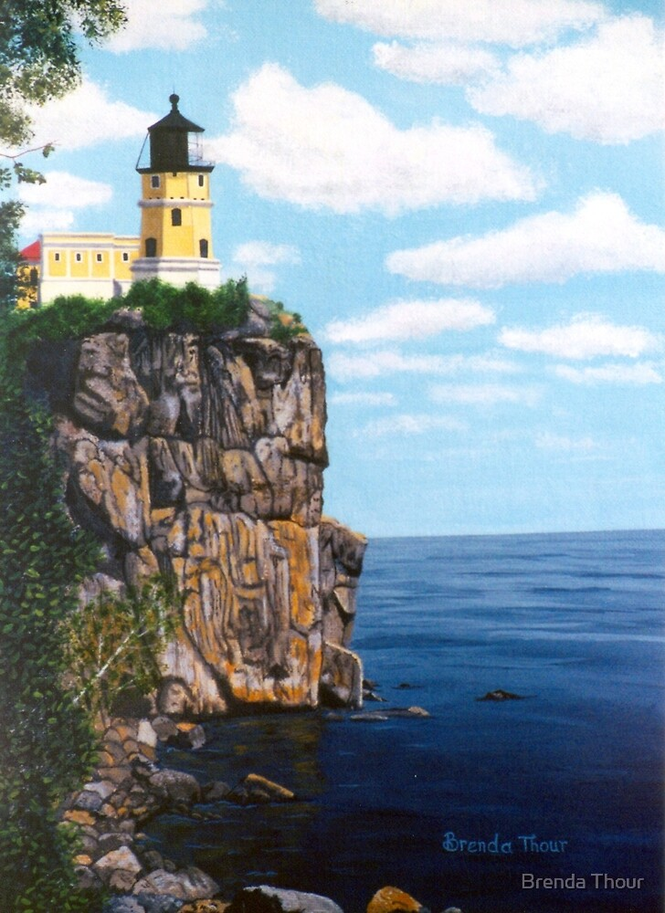 Split Rock by Brenda Thour