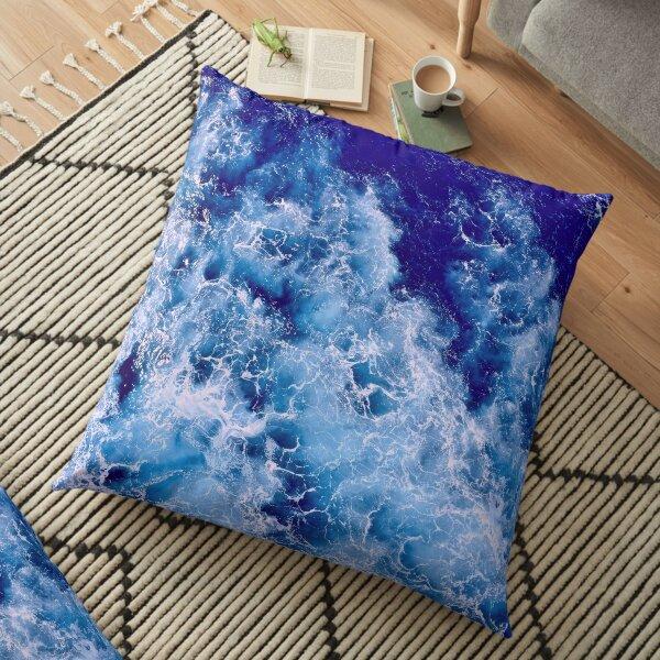 Blue Ocean Floor Pillow