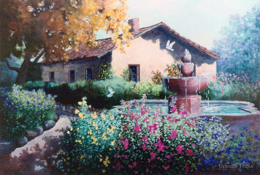 Hacienda by Brenda Thour