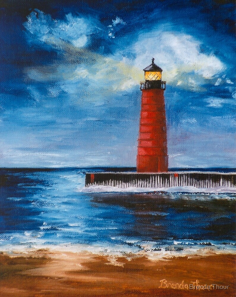 Lonely Beacon by Brenda Thour