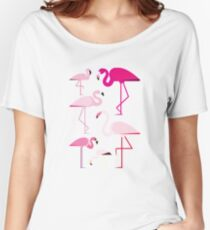 Flamingos Women's Relaxed Fit T-Shirt