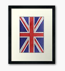 Flag United Kingdom Framed Print
