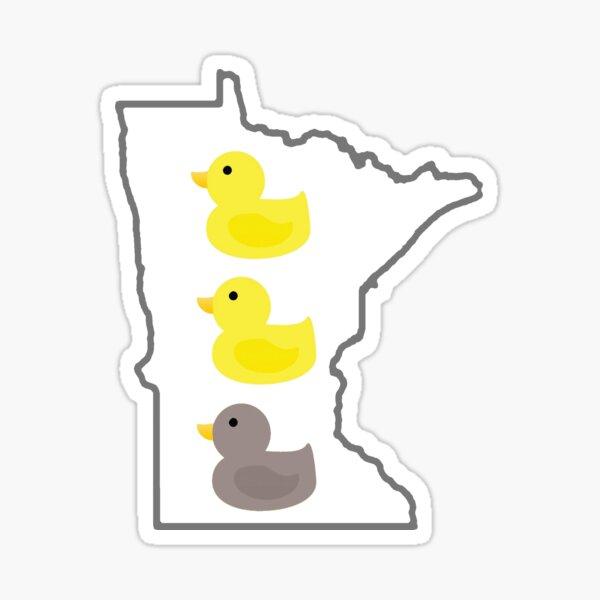 Duck Duck Gray Duck Sticker