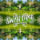 Swan Lake Belvedere Pavilion Versailles Petit Trianon France by Beverly Claire Kaiya