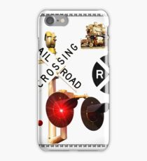 Railbuff Railroad Abstract iPhone Case/Skin
