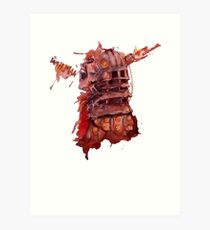 Clara Oswin Oswald - I AM HUMAN Art Print