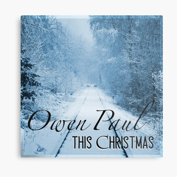 Owen Paul This Christmas Metal Print
