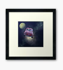 Bellas Travels Framed Print