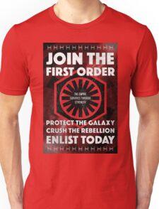 First Order Recruitment Poster Unisex T-Shirt