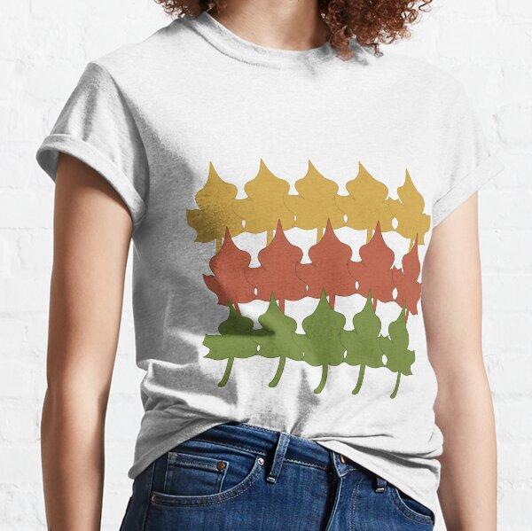 Dancing Autumn Leaves Classic T-Shirt