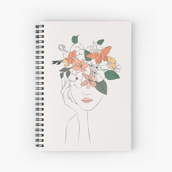 flowers girl Spiral Notebook