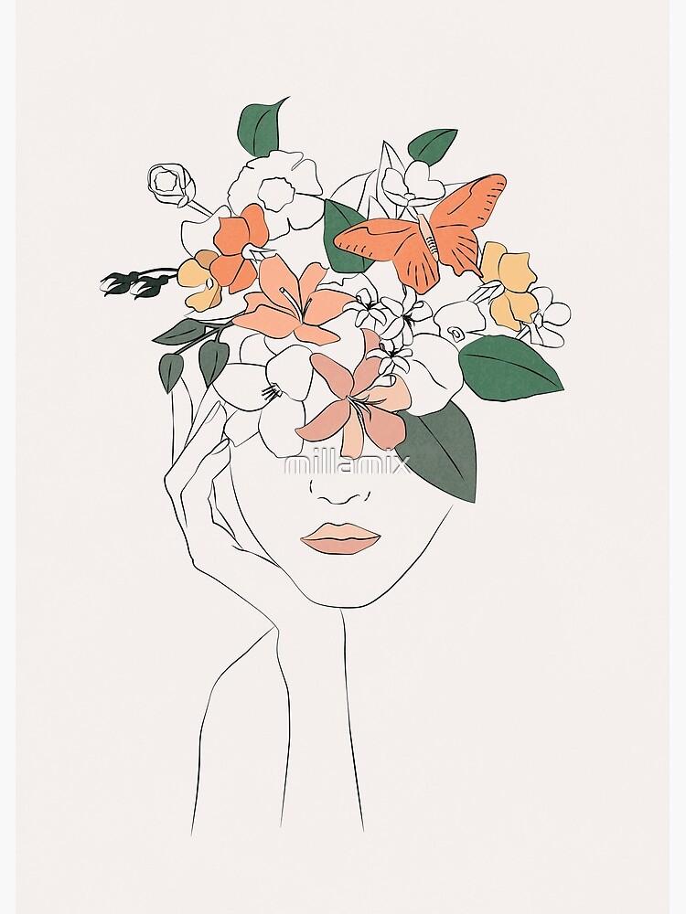 flowers girl by millamix