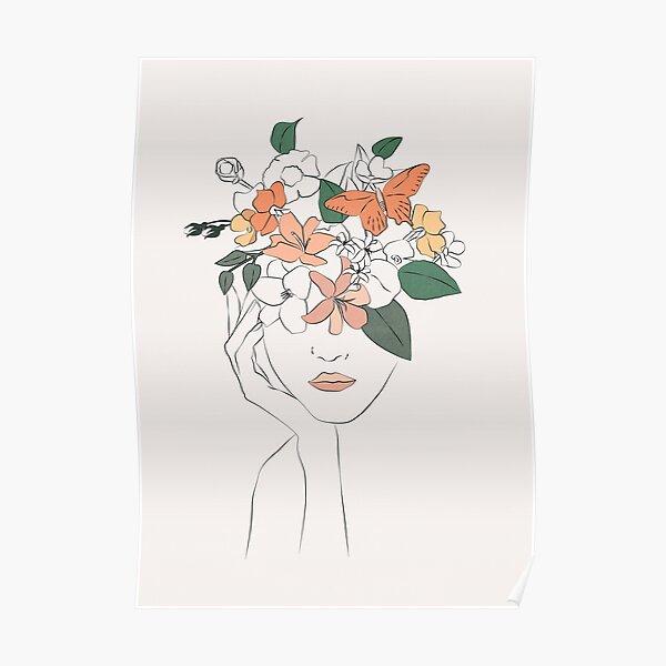 flowers girl Poster