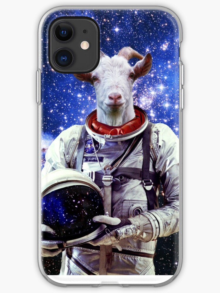 SPACE GOAT iphone case
