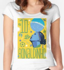 Ronaldinho Women's Fitted Scoop T-Shirt