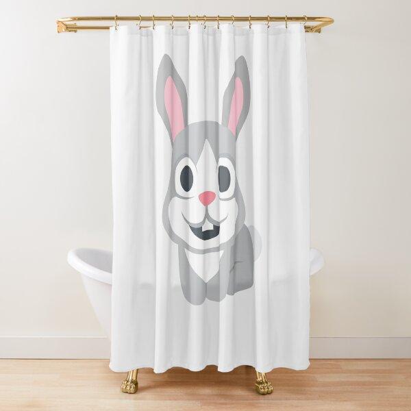 Rabbit Shower Curtains Redbubble