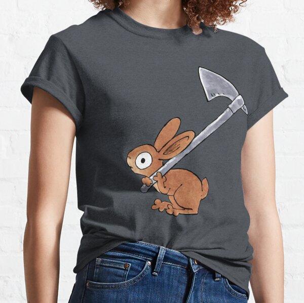 Axe-wielding Rabbit Classic T-Shirt