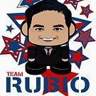 Team Rubio Politico'bot Toy Robot by Carbon-Fibre Media