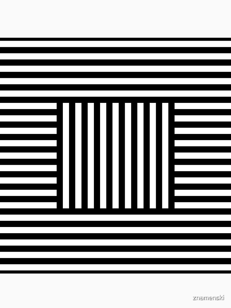 Symmetrical Striped Squares by znamenski