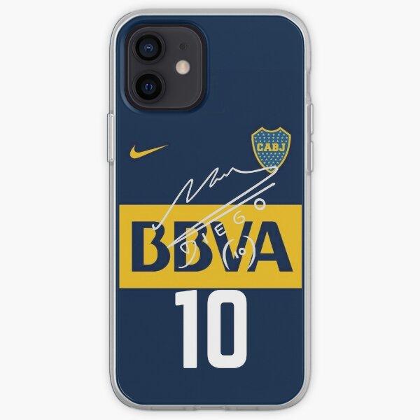 Maradona boca juniors Funda blanda para iPhone