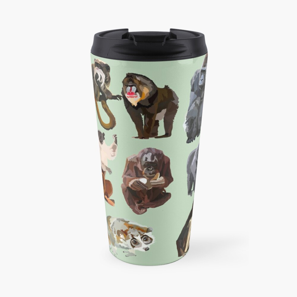 Mixed primate  Travel Mug