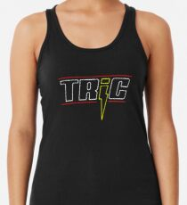 TRIC logo Racerback Tank Top