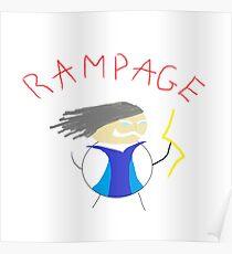 Zeus Rampage Poster
