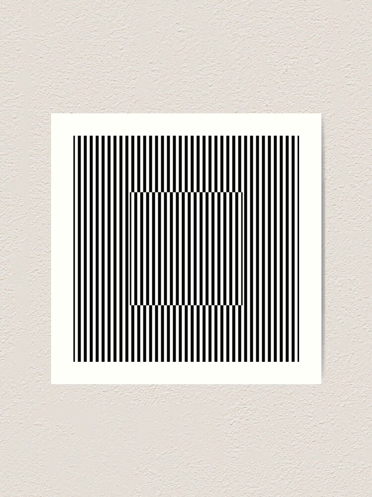 Alternate view of Vertical Symmetrical Strips Art Print