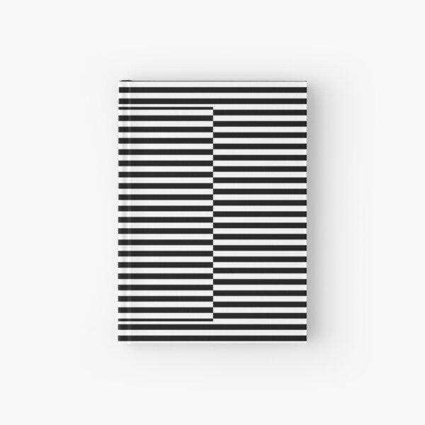 Horizontal Symmetrical Strips Hardcover Journal