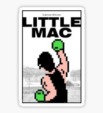 Punch-Out - Little Mac Rocky Poster Sticker