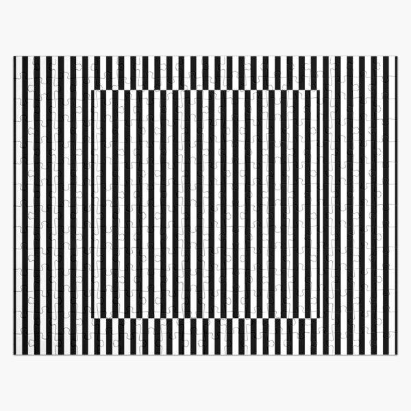Vertical Symmetrical Strips Jigsaw Puzzle