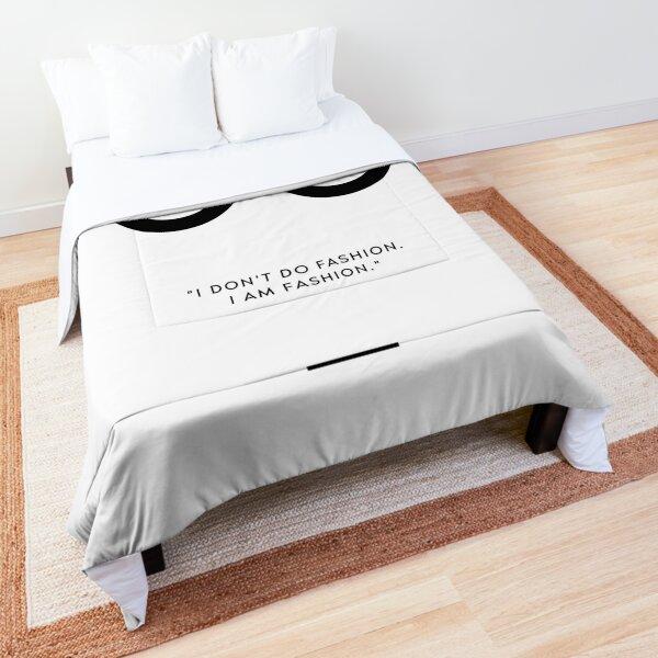 COCO FASHION QUOTE Comforter