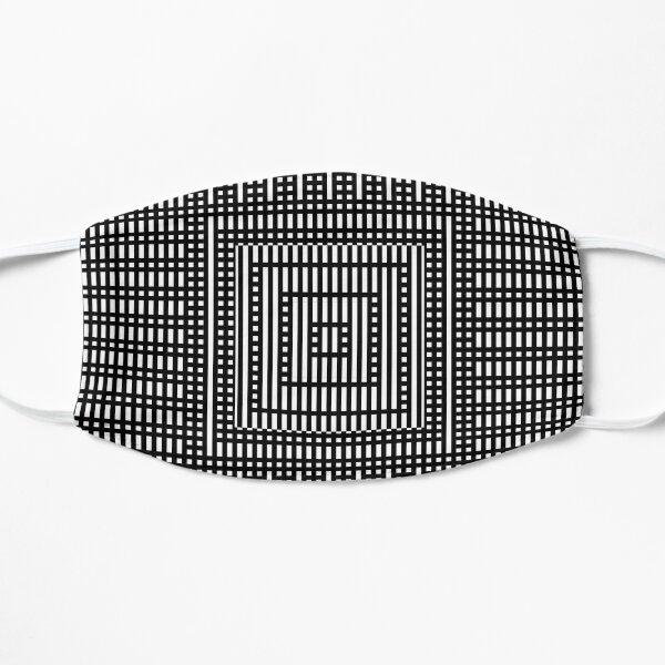 Symmetrical Strips Flat Mask