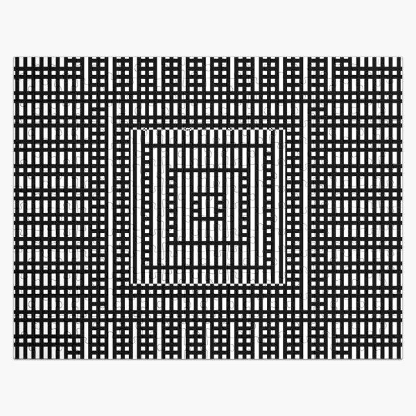 Symmetrical Strips Jigsaw Puzzle