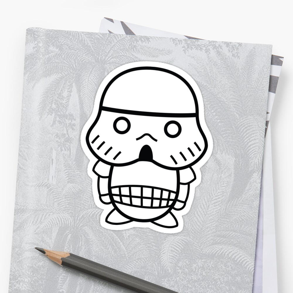 Stormtrooper Cute by geraldbriones