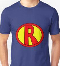Hero, Heroine, Superhero, Initials,  R Unisex T-Shirt